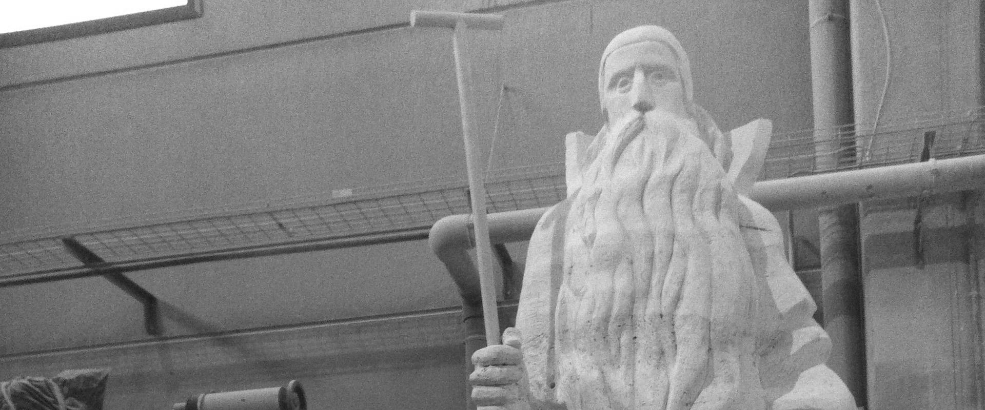 Escultura Sant Antoni Abat