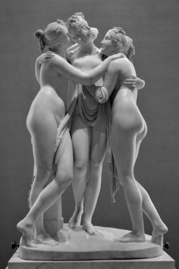 Les tres gràcies d'Antonio Canova