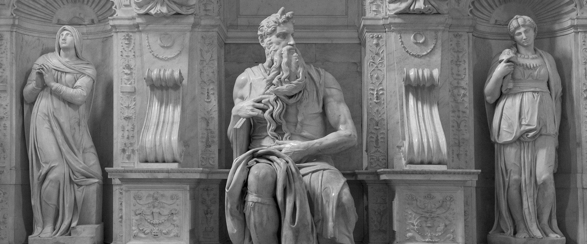 """""""El Moisès de San Pietro in Vincoli"""" de Michelangelo"""